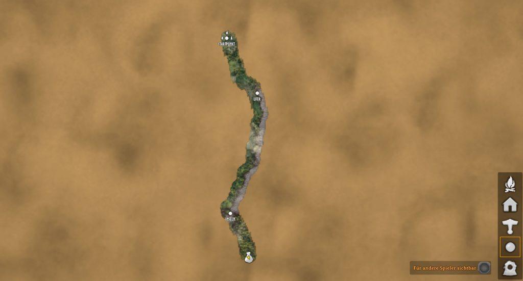 Mapa de distribuidores de Valheim desaparecido