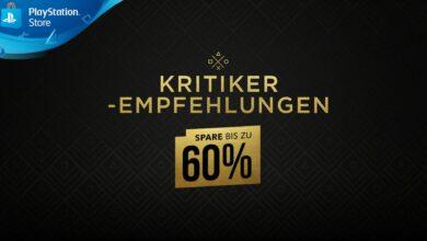 Recomendaciones de la crítica en PS Store: numerosos éxitos de PS4 ahora hasta un 60% más baratos