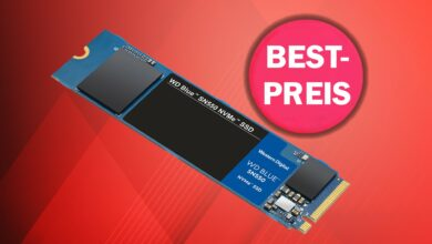 SSD rápido con 1 TB al mejor precio absoluto para nuevos clientes en OTTO