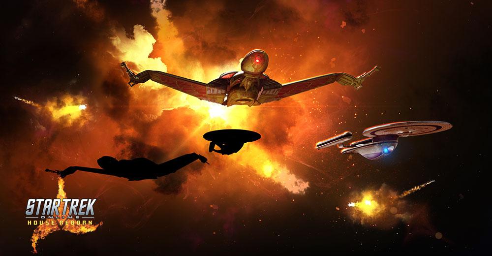 Paquete de aniversario en línea de Star Trek