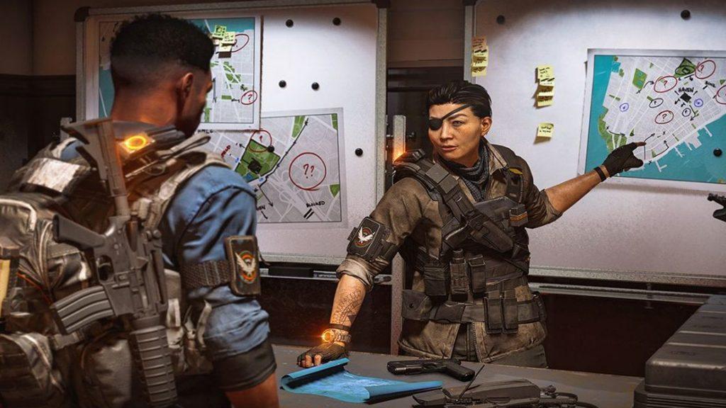 The Division 2 - Faye Lau - Sala de operaciones