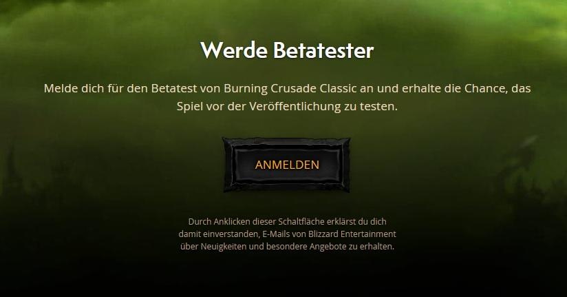 Probador beta de WoW Classic