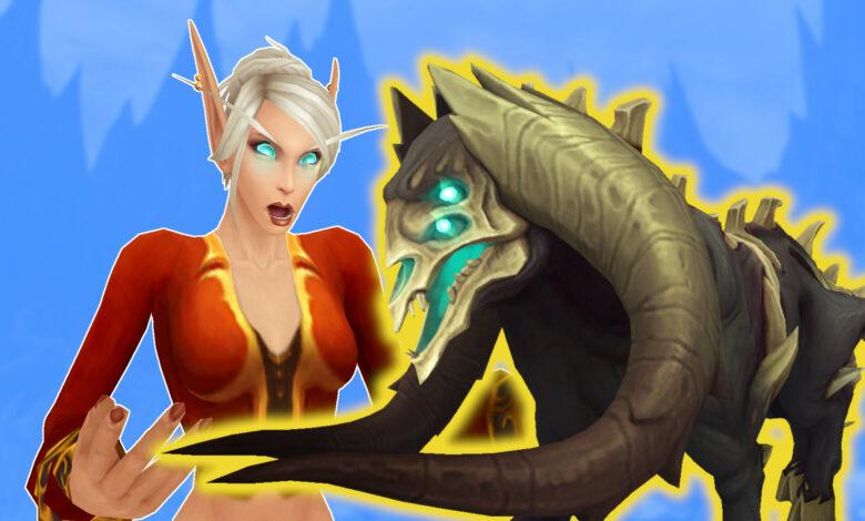 WoW Shadowlands: estas 4 monturas supuestamente ya están en el juego, pero nadie puede encontrarlas