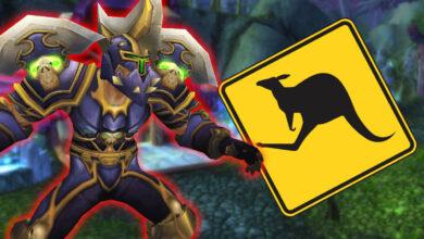 WoW: un guerrero salta por el campo de batalla como un canguro, nadie puede detenerlo