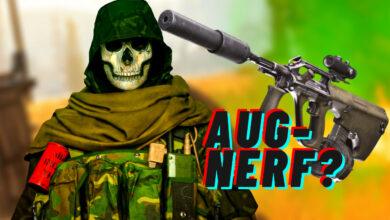 ¿Es el AUG demasiado fuerte para CoD Warzone? Los profesionales piden Nerf