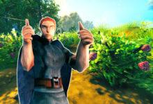 Valheim se basa en la batalla y el descubrimiento, pero los jugadores solo quieren cultivar bayas.