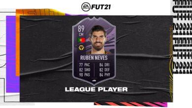 FIFA 21: Objetivos del jugador de la Liga Ruben Neves - Requisitos
