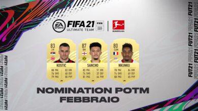 FIFA 21: nominaciones de la Bundesliga de febrero al POTM
