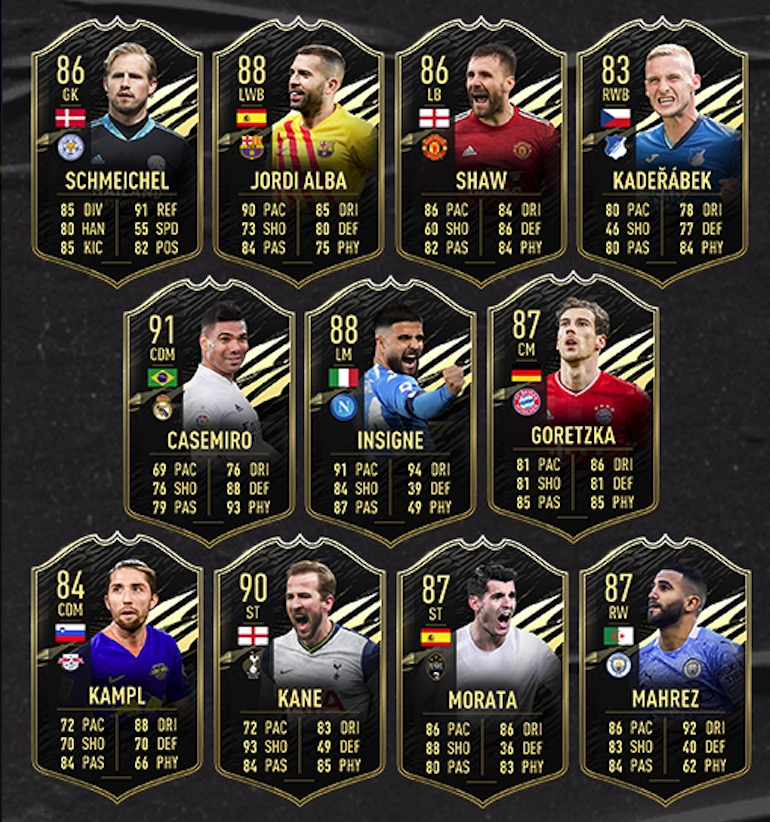 FIFA 21 TOTW 24