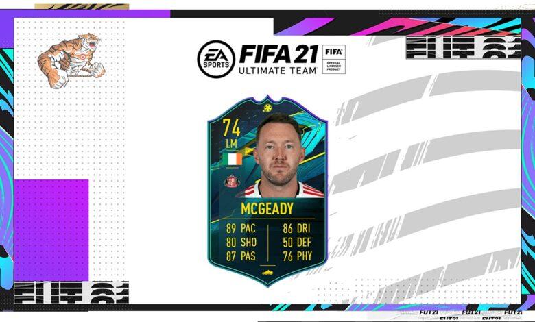 FIFA 21: Aiden McGeady Silver Stars Moments Objetivos - Requisitos