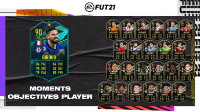 FIFA 21: Goles Olivier Giroud Moments - Requisitos