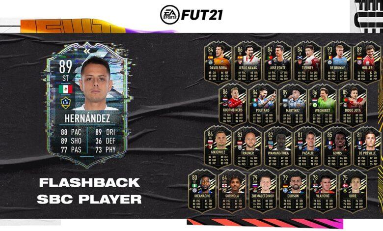 FIFA 21: Javier Hernandez Flashback Era SBC - Requisitos y soluciones