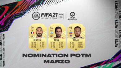 FIFA 21: Nominaciones POTM de LaLiga de marzo