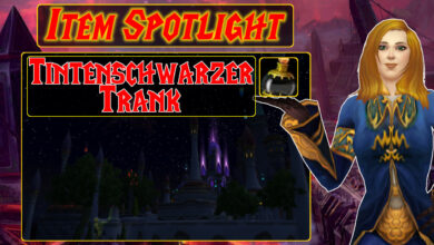 WoW: Item Spotlight - The Inky Black Potion cambia tu experiencia de juego