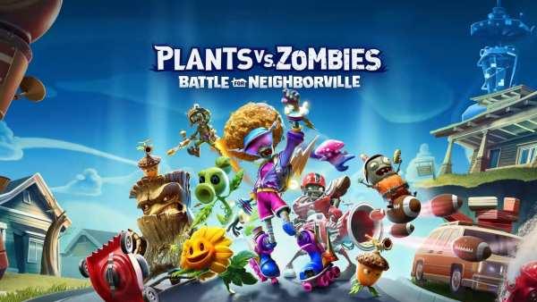Plants vs Zombies, Battle for Neighborville, PvZ, Nintendo Switch