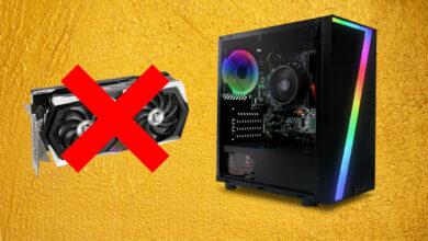El fabricante vende PC para juegos, pero falta el componente más importante