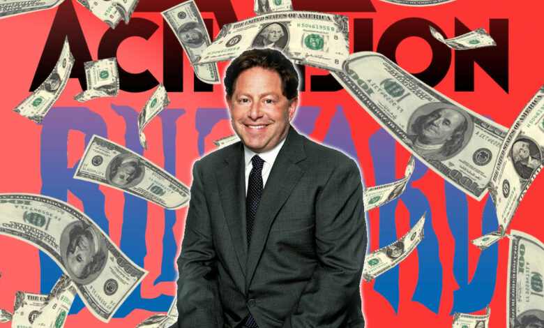 Activision Blizzard se otorga a sí mismo un bono de $ 200 millones después de las renuncias