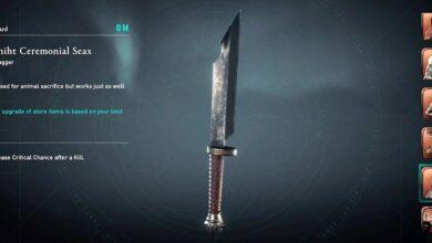 Assassin's Creed (AC) Valhalla - Cómo obtener Modraniht Ceremonial Seax