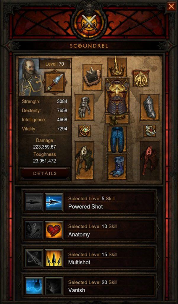 Equipo complementario de Diablo 3