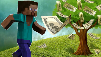 Docenas de niños luchan por lo que podría decirse que es el mejor trabajo de Minecraft del mundo