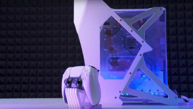 El usuario le da refrigeración por agua a la PS5, y eso se ve muy bien
