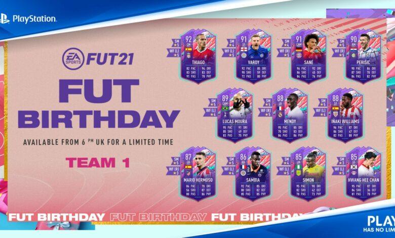 FIFA 21: FUT Birthday Team 1: se ha anunciado el equipo del evento que celebra el modo Ultimate Team