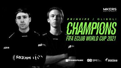 FIFA 21: Mkers es campeón de la FIFA eClub World Cup