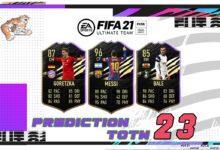 FIFA 21: Predicción TOTW 23 del modo Ultimate Team
