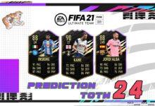 FIFA 21: Predicción TOTW 24 del modo Ultimate Team