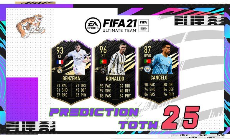 FIFA 21: Predicción TOTW 25 del modo Ultimate Team