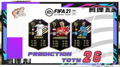 FIFA 21: TOTW 26 - Predicción del nuevo equipo de la semana