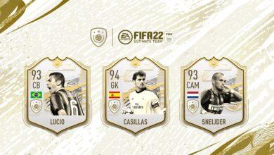 FIFA 22: ¿Tres nuevos íconos llegan a FUT?