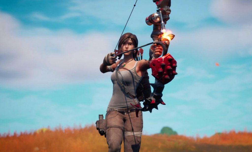 Fortnite Temporada 6 Capítulo 2 Lara Croft Bow