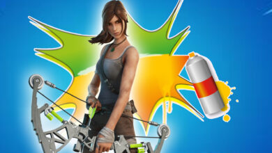 """Fortnite está regalando un spray """"Lara Croft"""": así es como lo canjeas"""