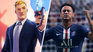 Fortnite muestra a la estrella del fútbol Neymar para la temporada 6, pero no lo dice