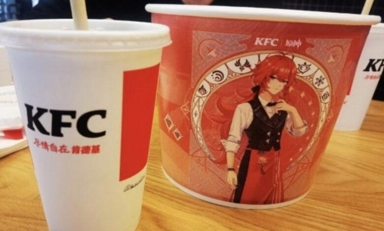 Miles de chinos hacen cola en KFC para recibir un regalo en Genshin Impact