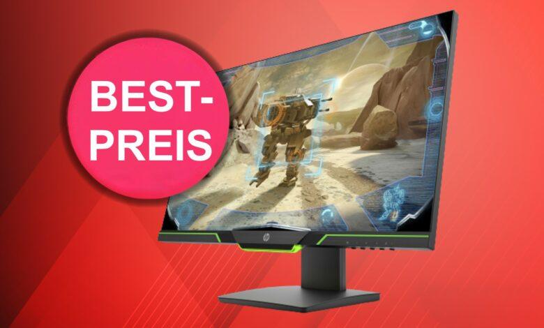 Monitor de juegos rápido con 144 Hz de HP al mejor precio en OTTO
