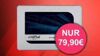 Muy reducido: Crucial MX500 SSD 1 TB cerca del mejor precio en Amazon