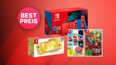 Oferta Saturn: Nintendo Switch Limited Edition y juegos al mejor precio