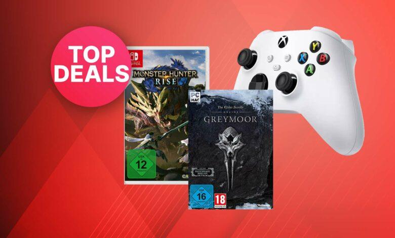 Ofertas de Pascua de Amazon: controladores y juegos de la serie Xbox muy reducidos