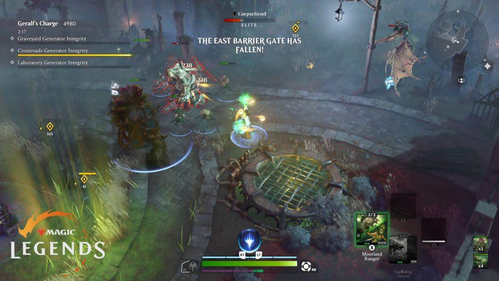 Prueba de carga de Magic Legends Geralfs