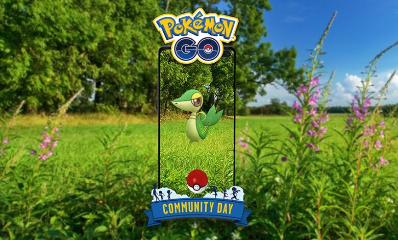 Pokémon GO: Community Day en abril con Serpifeu y estas bonificaciones