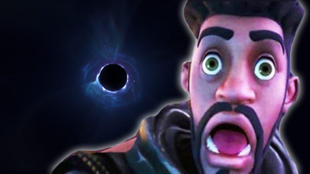 título de la temporada 4 del agujero negro de fortnite