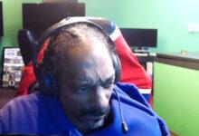 Snoop Dogg está en vivo en Twitch durante 15 minutos, jugando, enojándose y saliendo