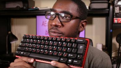 """Tech YouTuber prueba """"el mejor teclado de todos los tiempos"""". Realmente es así de genial"""