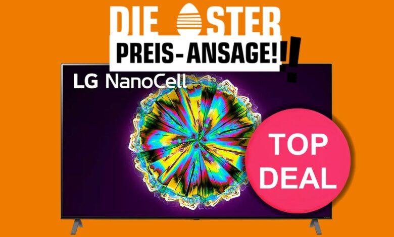 Televisor nanocell 8K de LG con HDMI 2.1 al mejor precio absoluto en Saturn