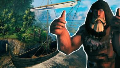 Valheim: Viking transforma el mar en un enorme trampolín