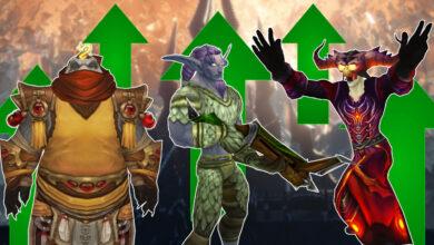 WoW: Blizzard hace que estas tres clases sean aún más fuertes con la revisión