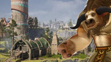 WoW: Capital of the Tauren parece más real que la realidad en Unreal Engine