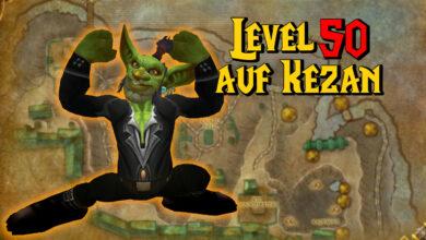 WoW: Goblin se niega a abandonar el área de inicio, se convierte en el nivel 50 allí